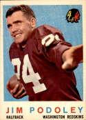 1959 Topps #165 Jim Podoley EX/NM