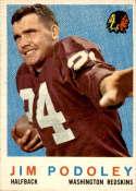 1959 Topps #165 Jim Podoley NM Near Mint