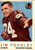 1959 Topps #165 Jim Podoley VG Very Good
