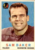 1959 Topps #175 Sam Baker NM Near Mint