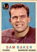 1959 Topps #175 Sam Baker EX/NM