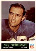 1965 Philadelphia #66 Nick Pietrosante EX Excellent