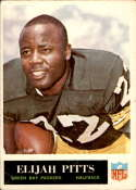1965 Philadelphia #80 Elijah Pitts EX Excellent RC Rookie