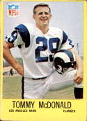 1967 Philadelphia #91 Tommy McDonald VG/EX Very Good/Excellent