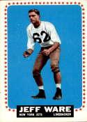 1964 Topps #128 Jeff Ware EX Excellent