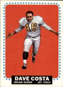 1964 Topps #134 Dave Costa EX Excellent RC Rookie