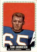 1964 Topps #158 Sam Gruneisen VG/EX Very Good/Excellent