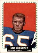 1964 Topps #158 Sam Gruneisen VG Very Good