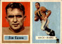 1957 Topps #143 Jim Cason DP EX/NM RC Rookie
