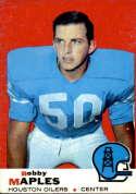 1969 Topps #19 Bobby Maples VG Very Good