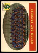1958 Topps #96 Packers Team EX Excellent
