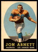 1958 Topps #20 Jon Arnett EX Excellent RC Rookie