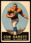 1958 Topps #20 Jon Arnett VG/EX Very Good/Excellent RC Rookie