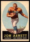 1958 Topps #20 Jon Arnett EX/NM RC Rookie