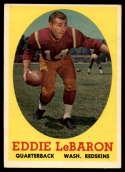 1958 Topps #112 Eddie LeBaron EX/NM