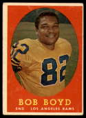 1958 Topps #21 Bob Boyd EX Excellent