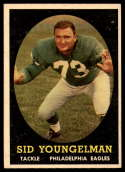 1958 Topps #24 Sid Youngelman UER EX/NM