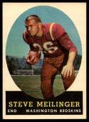 1958 Topps #33 Steve Meilinger VG Very Good