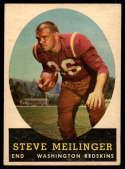 1958 Topps #33 Steve Meilinger EX/NM