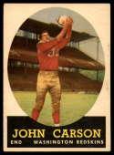 1958 Topps #47 John Carson EX Excellent