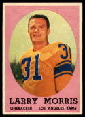 1958 Topps #50 Larry Morris EX Excellent