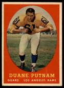 1958 Topps #55 Duane Putnam NM+