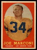 1958 Topps #63 Joe Marconi EX/NM RC Rookie