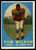 1958 Topps #67 Tom Wilson EX Excellent