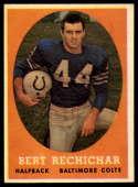 1958 Topps #74 Bert Rechichar NM Near Mint