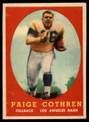 1958 Topps #92 Paige Cothren NM Near Mint