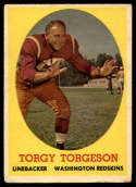 1958 Topps #97 Torgy Torgeson VG/EX Very Good/Excellent