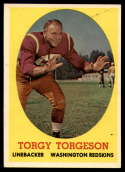 1958 Topps #97 Torgy Torgeson NM Near Mint