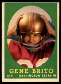 1958 Topps #113 Gene Brito VG/EX Very Good/Excellent