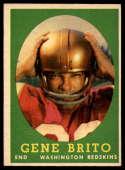 1958 Topps #113 Gene Brito EX/NM