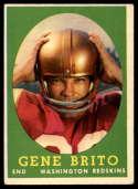1958 Topps #113 Gene Brito EX Excellent