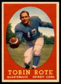 1958 Topps #94 Tobin Rote EX++ Excellent++