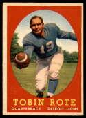 1958 Topps #94 Tobin Rote EX/NM