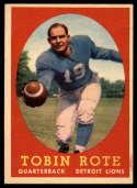 1958 Topps #94 Tobin Rote NM Near Mint