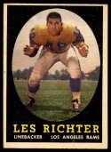 1958 Topps #105 Les Richter EX/NM