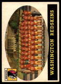 1958 Topps #27 Redskins Team EX Excellent