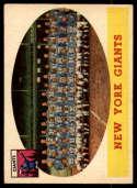 1958 Topps #61 Giants Team NM Near Mint