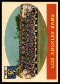 1958 Topps #85 Rams Team EX Excellent