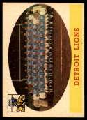 1958 Topps #115 Lions Team NM Near Mint