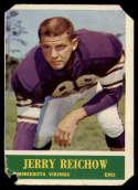 1964 Philadelphia #107 Jerry Reichow P Poor