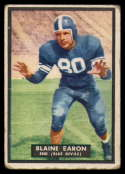 1951 Topps #20 Blaine Earon VG Very Good rubbed
