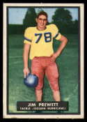 1951 Topps #23 Jim Prewett EX Excellent unrubbed