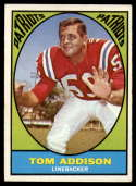 1967 Topps #5 Tommy Addison EX Excellent