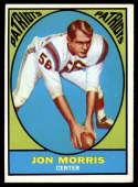 1967 Topps #6 Jon Morris EX/NM