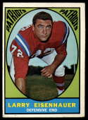 1967 Topps #9 Larry Eisenhauer EX Excellent