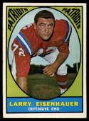 1967 Topps #9 Larry Eisenhauer EX/NM